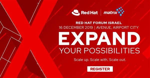 Red Hat Forum 2019 Israel